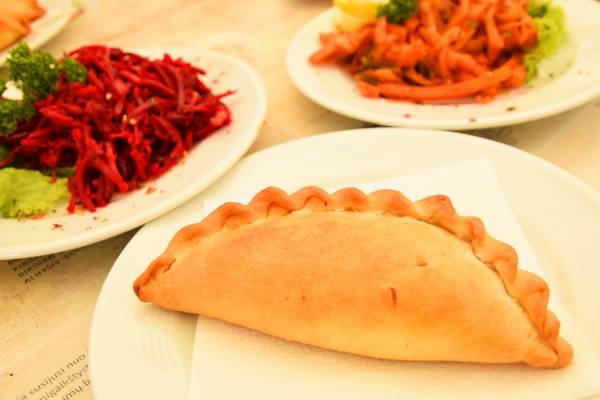 אוכל קראי, טרקאי, ליטא