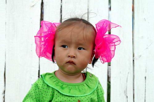 ילדה מונגולית