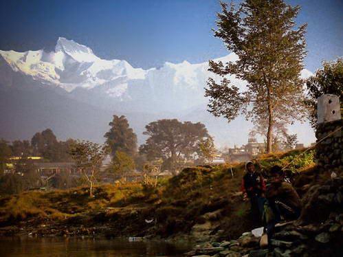 נפאל, ההרים המושלגים של גג העולם