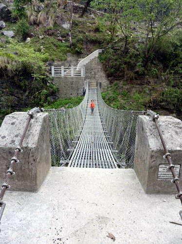 גשר תלוי בטרק פון היל