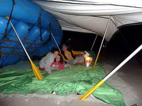 רפטינג עם ילדים בנפאל