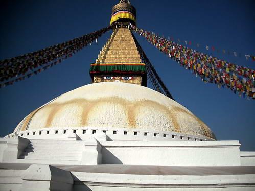 הסטופה הבודהיסטית בודהנת בקטמנדו, נפאל