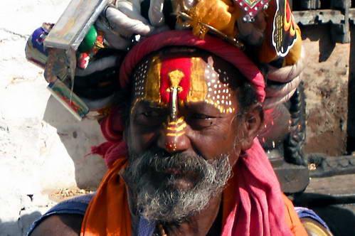 סאדהו (איש דת) מדומה העושה פרנסתו בהתחזות