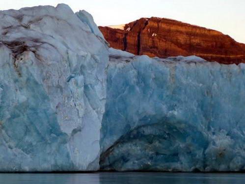 קרחון קורנה, שפיצברגן, איי סבאלברד