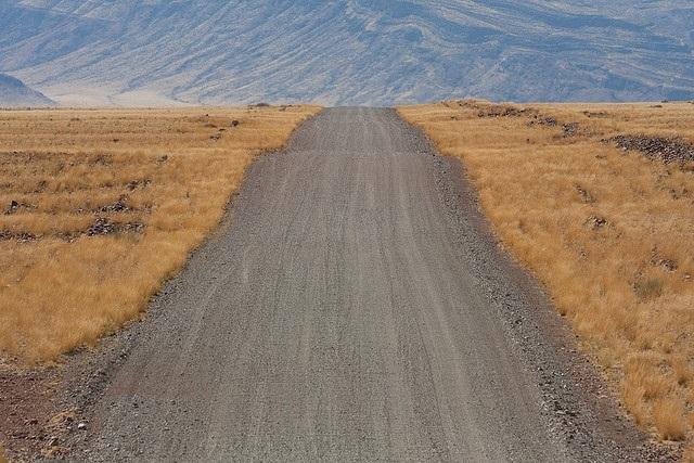 דרך עפר בנמיביה צילום  Enrico Donell