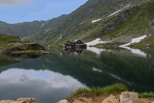 כביש טראנספגרשן,אגם בלאה, רומניה