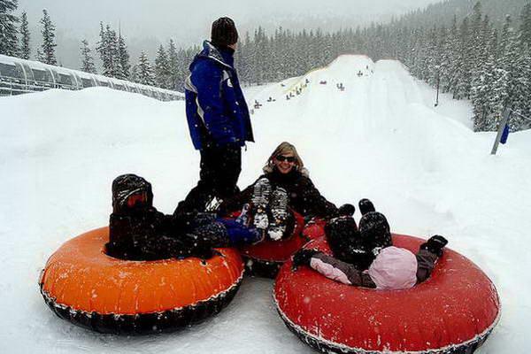 חורף ברומניה, אבובים בשלג
