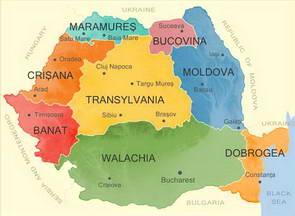 מחוזות רומניה