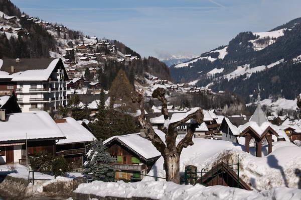 סקי בשוויץ, שאמפרי, פורט דו סוליי