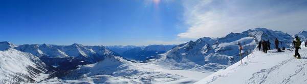 סקי בשוויץ, סנט מוריץ סקי