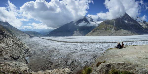 קרחון אלטש, שוויץ