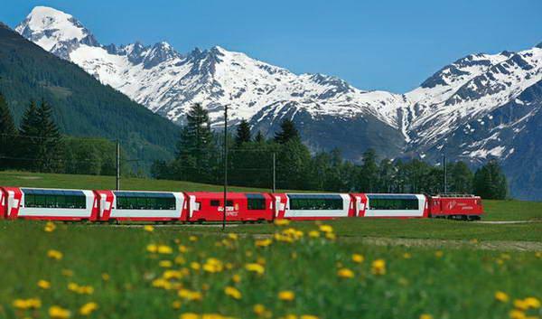 רכבות בשוויץ