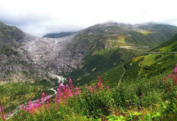 קרחון הרון, שוויץ