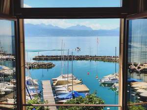מלון מומלץ בכפר לוטרי, אזור הכרמים סביב אגם ז'נבה
