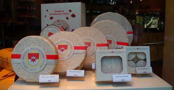 עוגת סולוטורן, שוויץ