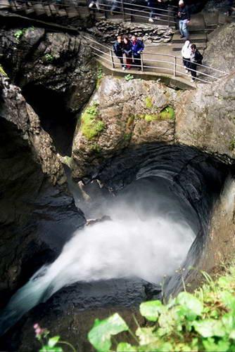 מפל טרומלבאך, אזור יונגפראו, מרכז שוויץ
