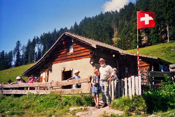 הבית של היידי, שוויץ
