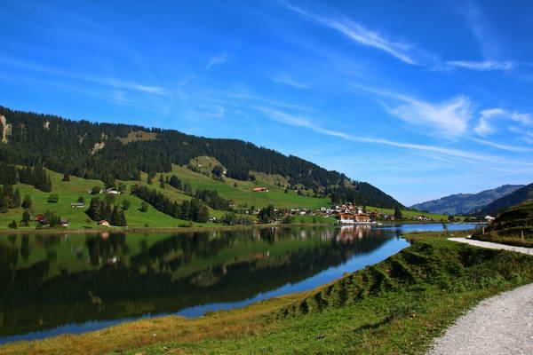 אגם שווארצזה, פריבורג, שוויץ