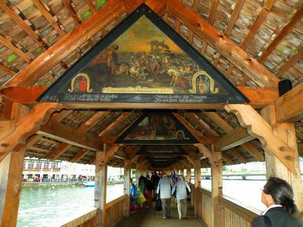 גשר הקפלה, לוצרן
