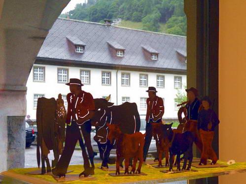 אנגלברג, שוויץ, מחלבה במנזר באנגלברג