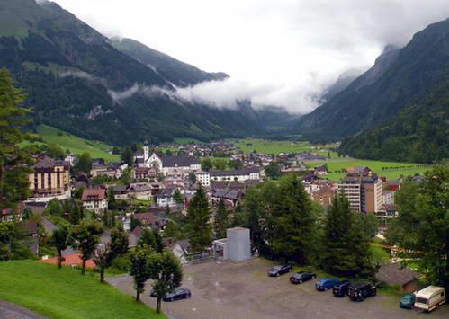 הר טיטליס, שוויץ, מלון טראס