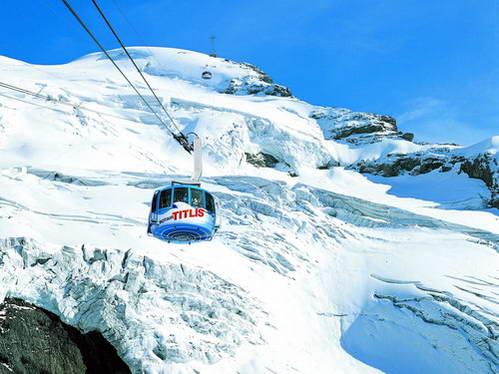 הר טיטליס, שוויץ, רכבל מסתובב