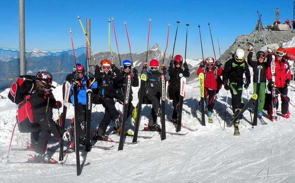סקי על קרחון מטרהורן, צרמט
