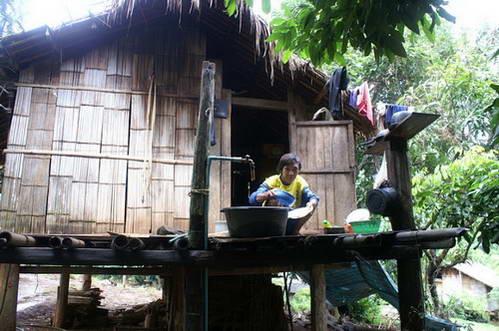 קאנצ'נאבורי, החיים בכפר