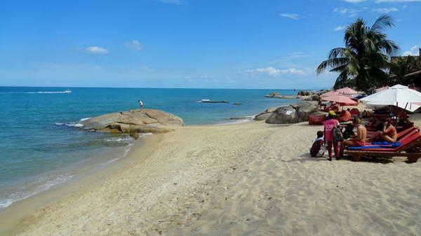 חוף למאי, קו סמוי
