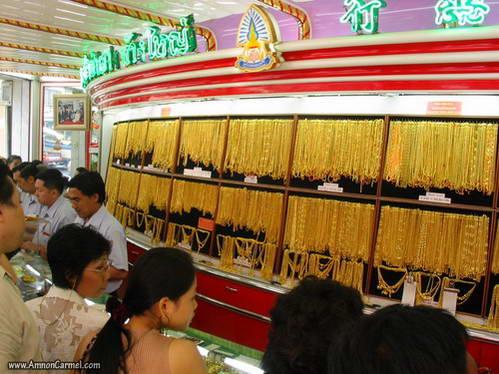 חנות זהב, בנגקוק
