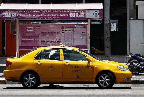מונית בבנגקוק