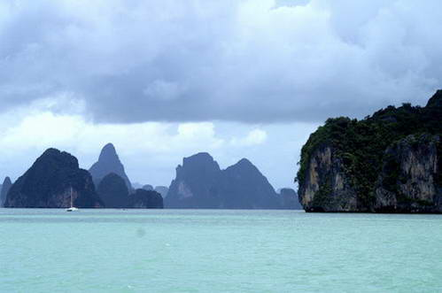 צלילה בים אנדמן, תאילנד