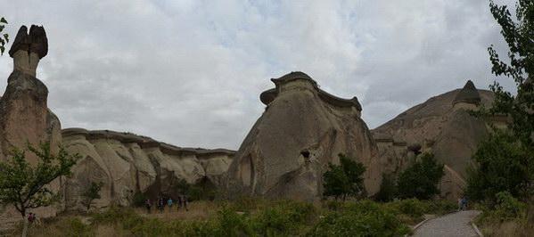 פסלי אבן, קפדוקיה, טורקיה