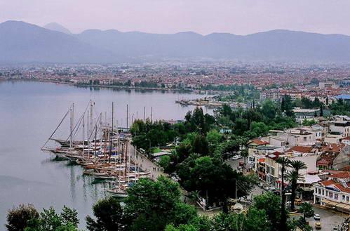 המרינה של פיטהייה, טורקיה