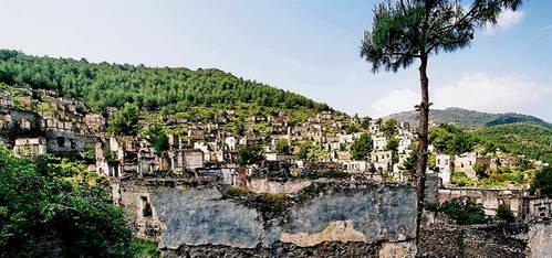 העיר הנטושה קאיה-קוי, טורקיה