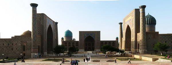 כיכר רג'יסטן בסמראקאנד אוזבקיסטן