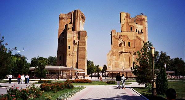 חורבות ארמון הקיץ של טימור, שאחריסבאז