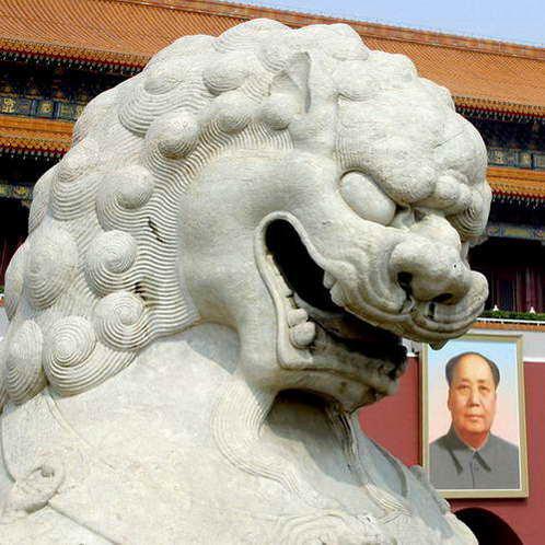 אריה מאבן והאריה המת
